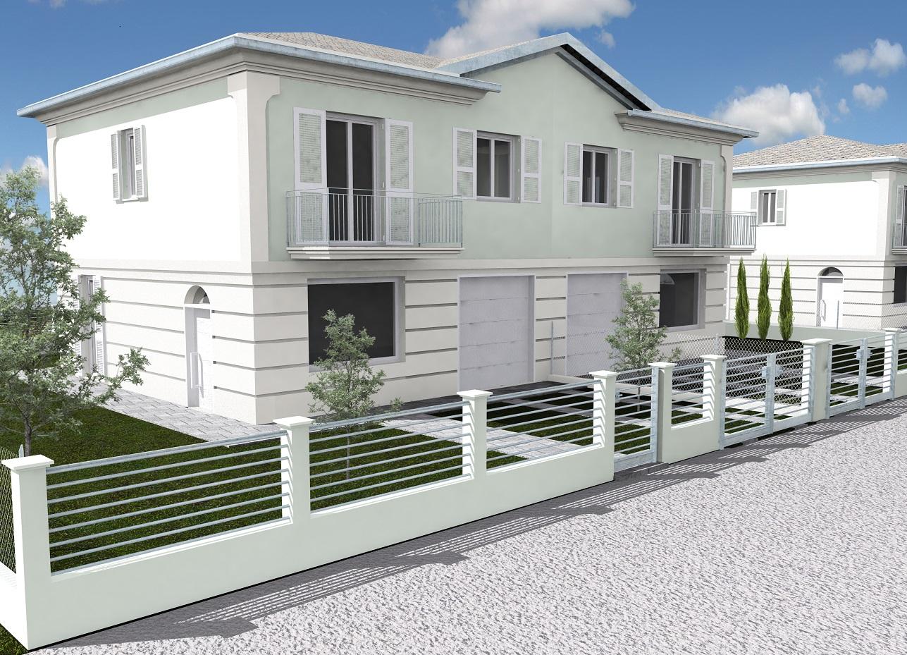 Via Tjader, Classe - Nuova costruzione di ville bifamiliari in Classe A++++