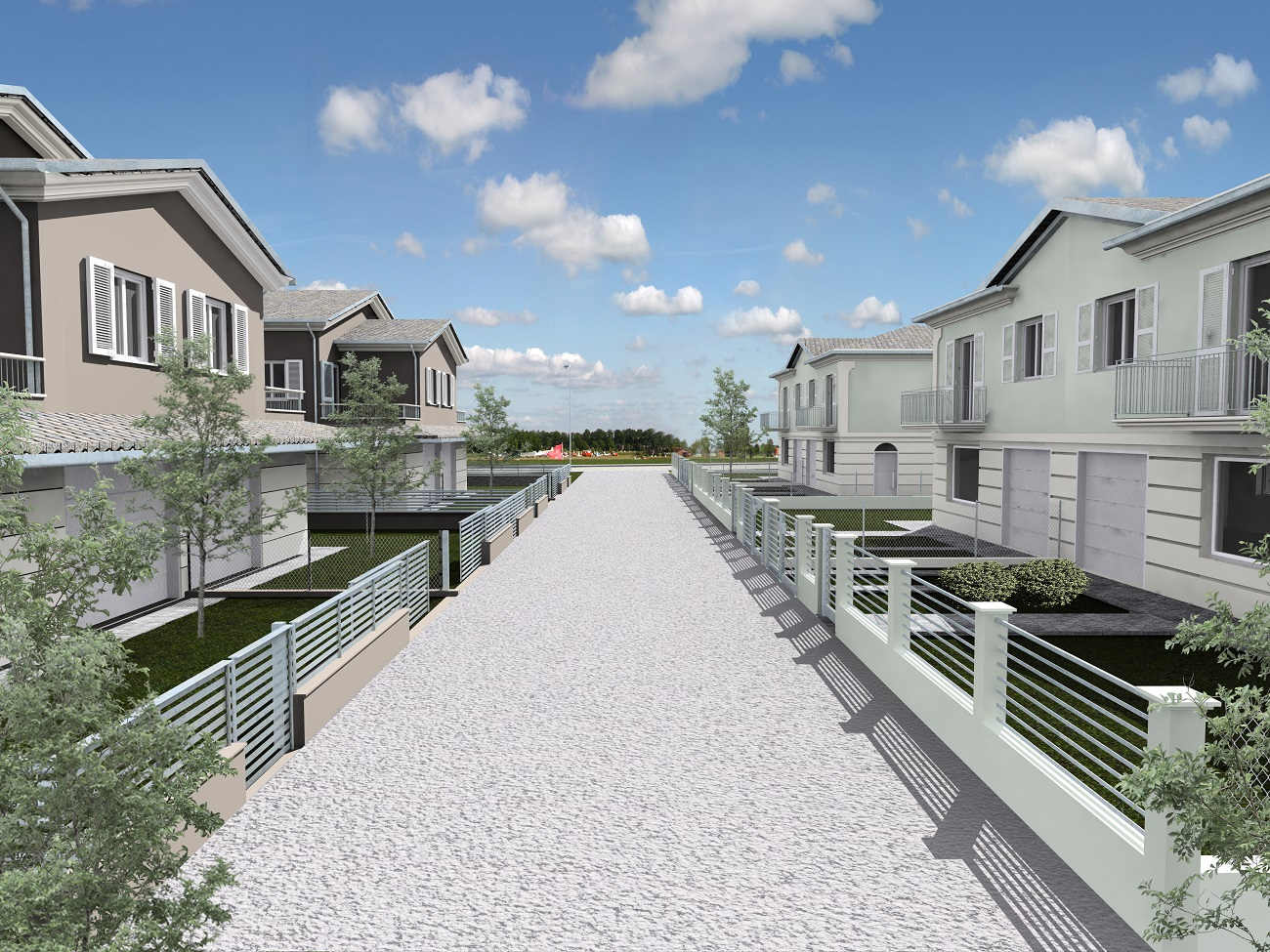 Via Tjader, Classe - Nuova costruzione di ville bifamiliari in Classe A 4