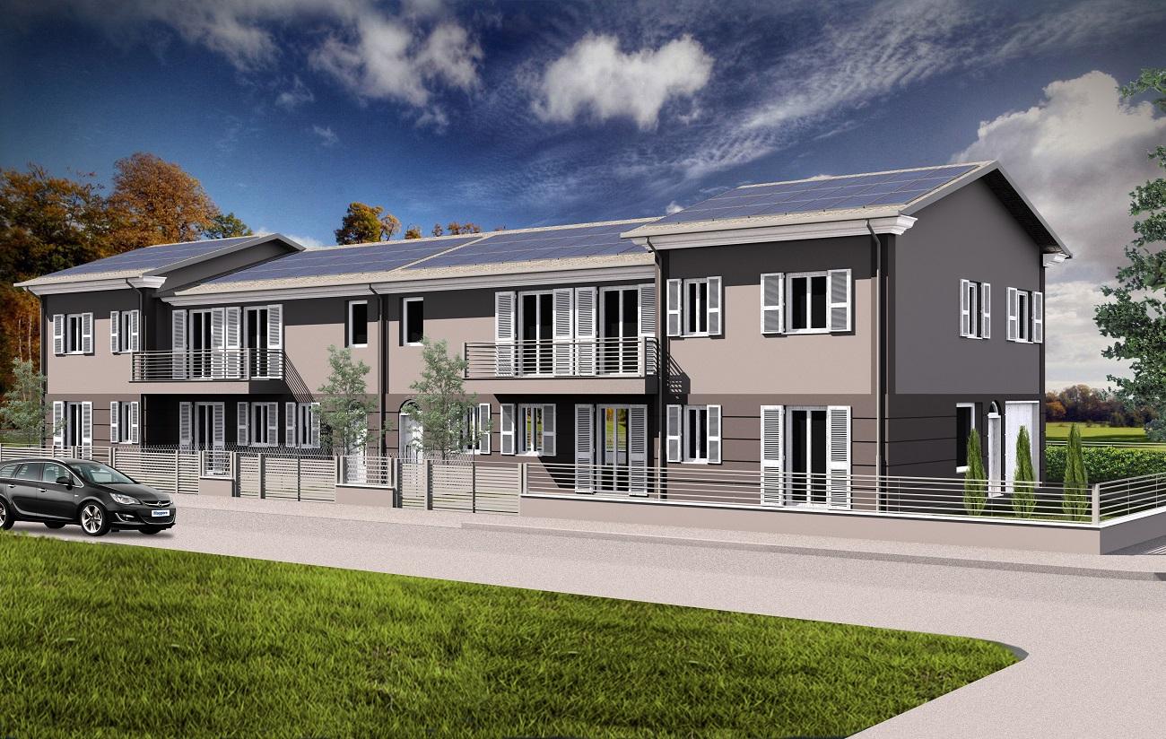 CLASSE- VIA DEICHMANN realizzazione di villette e appartamenti